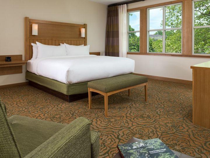 Tmx 1469734715445 Inn At Swarthmore   Guestrooms   King Bed Swarthmore, Pennsylvania wedding venue