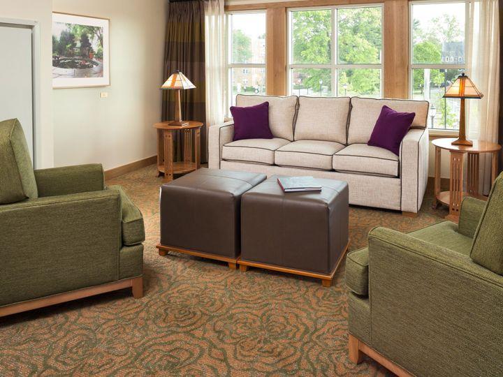 Tmx 1469734906602 Inn At Swarthmore   Guestrooms   Sitting Area 2 Swarthmore, Pennsylvania wedding venue