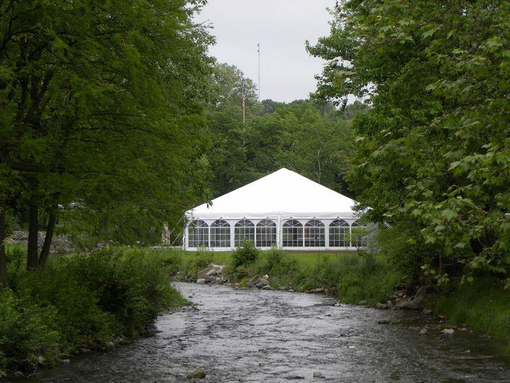 Stone Terrace Tent