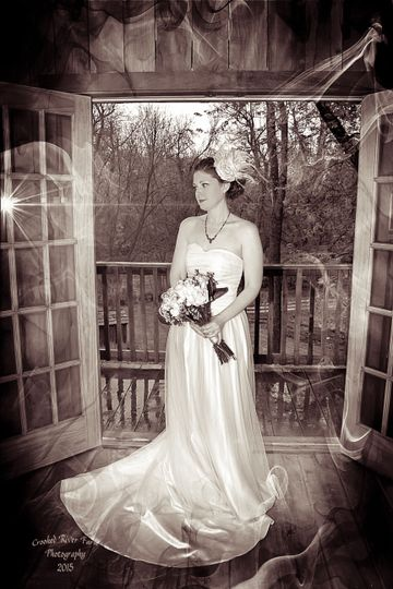 Bridal portraitPhoto by Crooked River Farm Photography LLC
