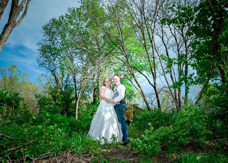 Couples portrait. Photo by Crooked River Farm Photography LLC