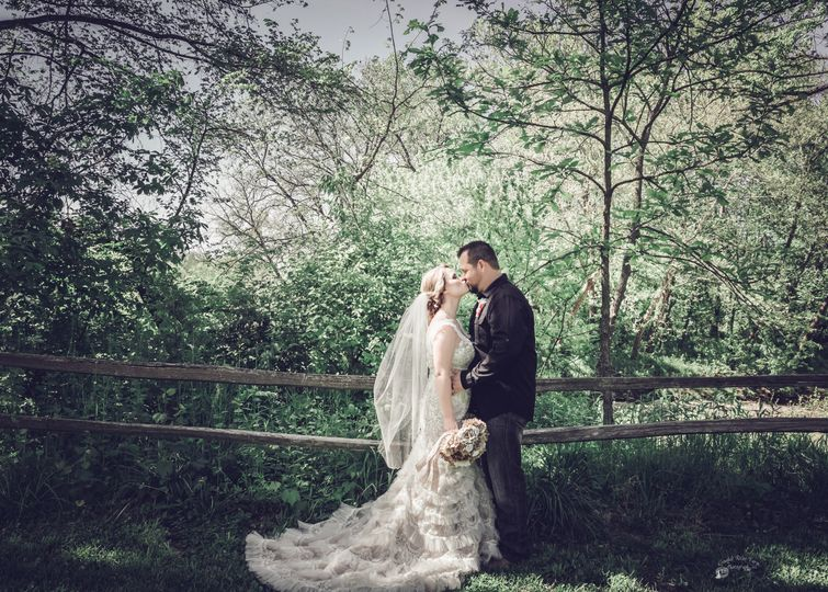 Spring Wedding Photo by Crooked River Farm Photography LLC