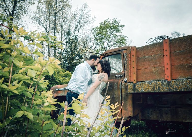 Couples portrait Photo by Crooked River Farm Photography LLC