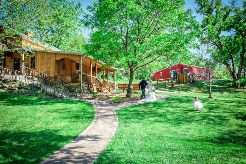 Outdoor venue Photo by Crooked River Farm Photography LLC