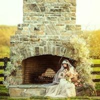 Fireplace and bride