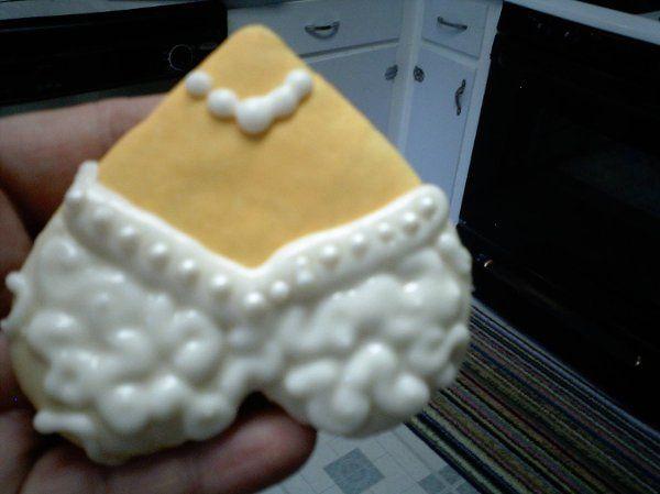 Bride Sugar cookie