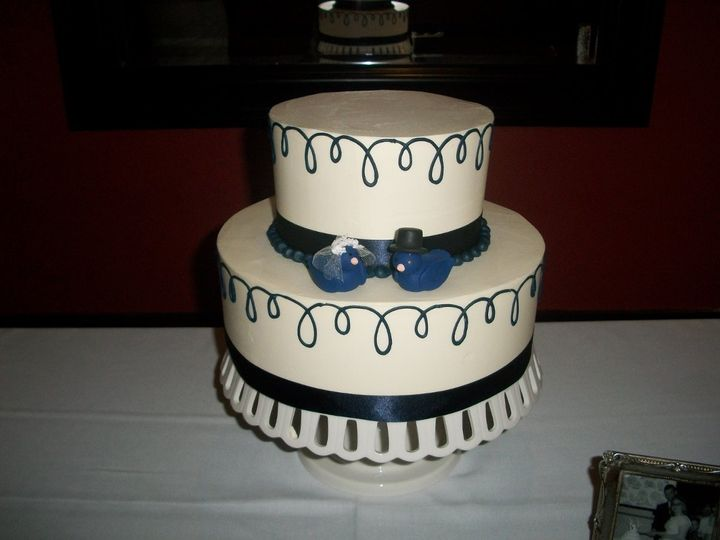 Tmx 1347908318628 1001737fEB2012 Cincinnati, Ohio wedding cake
