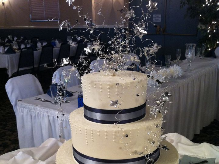 Tmx 1347913889343 10811WC2b Cincinnati, Ohio wedding cake
