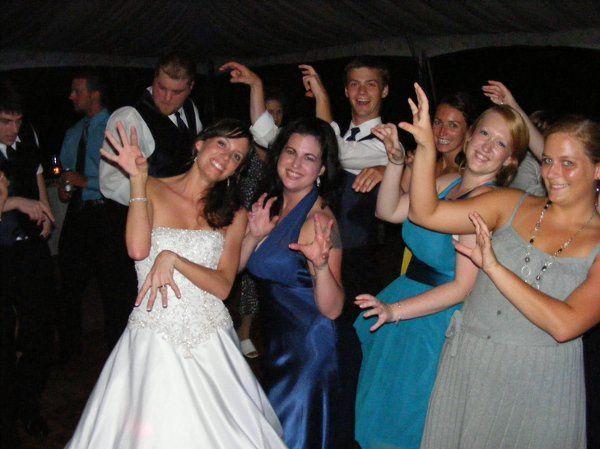 "This was a ""Thriller"" wedding!!!  lol"
