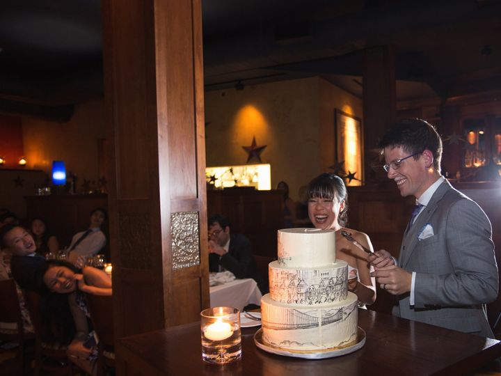 Tmx 1509050544916 Nick And Catherine 0545 Providence, RI wedding cake
