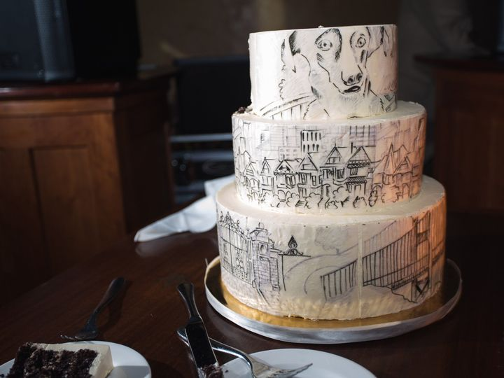 Tmx 1509050563158 Nick And Catherine 0546 Providence, RI wedding cake