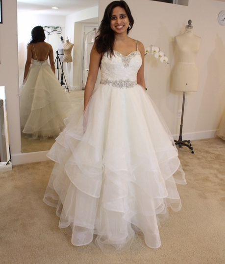 Custom Wedding Skirt