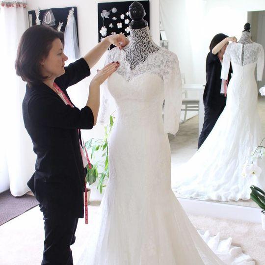 Finishing Touches Unique Wedding Altars: Fashion Irina-Custom Wedding Gowns