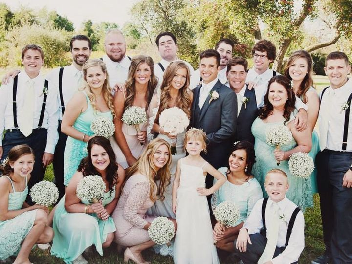 Tmx 1508337216856 Wedding Party Babies Breath Utica, Michigan wedding florist