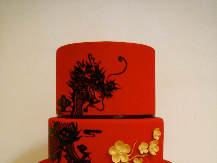 Tmx 1340336586107 IMG3218 Brooklyn wedding cake