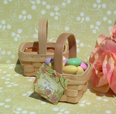 Minic Picnic Basket DIY favors.