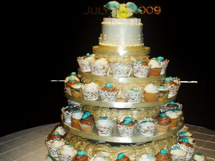 Tmx 1264007807295 Julyweddingcakestobesorted072 Nashville wedding cake