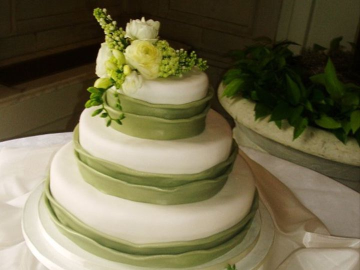 Tmx 1264010926327 Greenflowers Nashville wedding cake