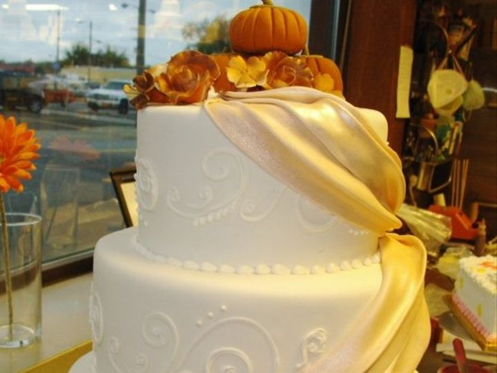 Tmx 1264011059295 Pumpkins Nashville wedding cake