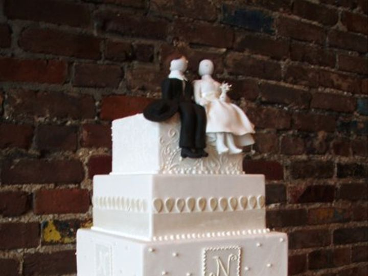 Tmx 1264011131202 Valentinecakes2009dispolays033 Nashville wedding cake