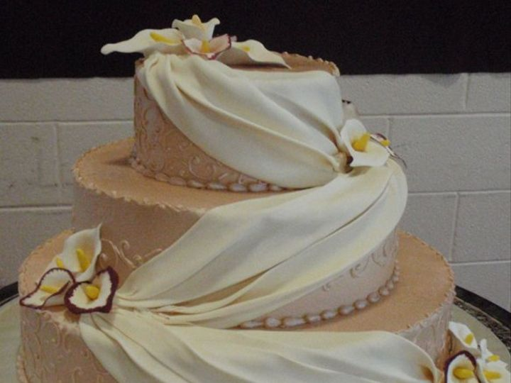 Tmx 1285010681321 P9180014 Nashville wedding cake
