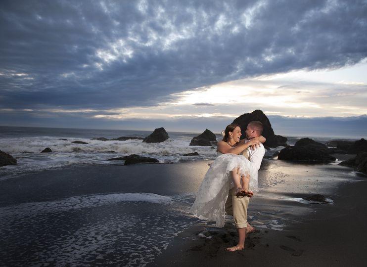 california beach wedding 786e