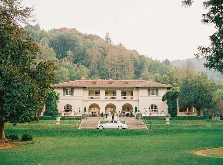 Classic Car at the Villa
