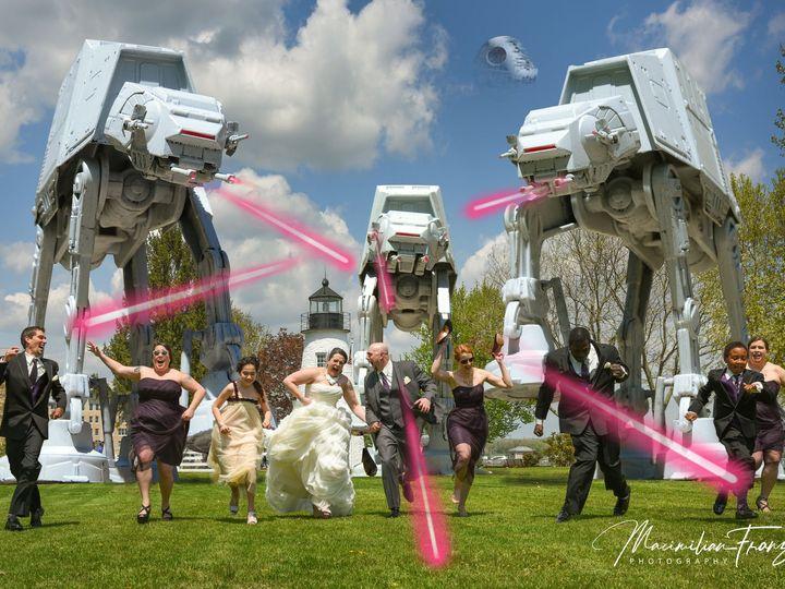 Tmx 1534791246 F603bfd9487b7312 1534791244 9a94a6b06284bae4 1534791220789 70 Star Wars Wedding Phoenix, MD wedding photography
