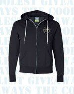 Talk about soft! Pre-laundered blend turns a beautifully tailored hoodie into your favorite comfort...