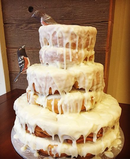 Cnnamon Roll Cake
