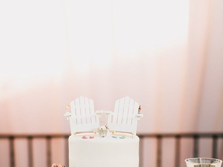 Tmx 382 51 658852 1566333624 Santa Barbara, California wedding cake