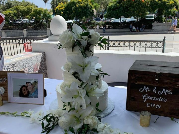 Tmx 432 51 658852 1566333756 Santa Barbara, California wedding cake