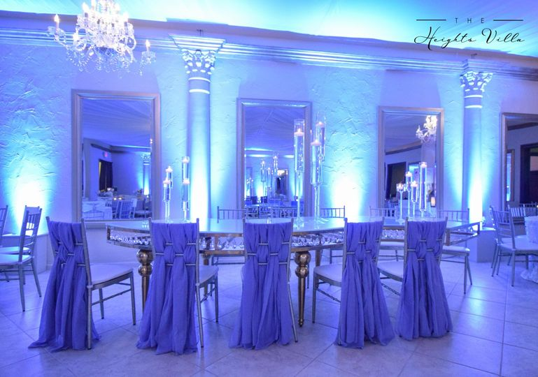 Dusty Blue Ballroom