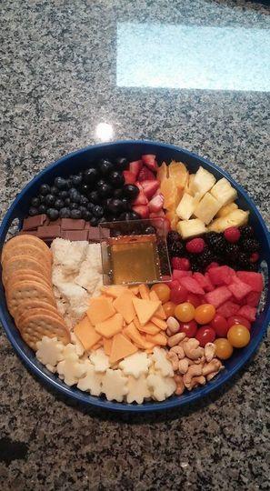 Kids cheese board.