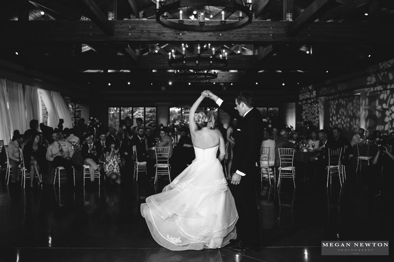first dance black and white photo credit