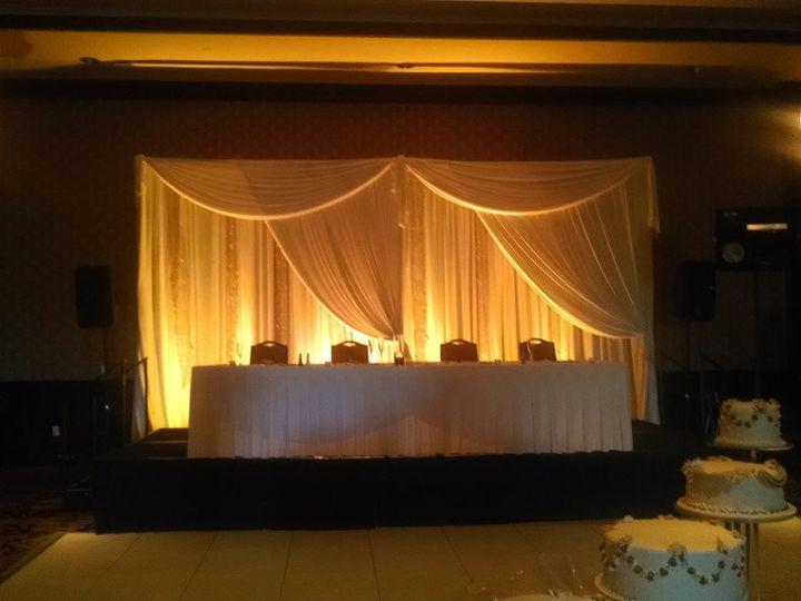 Tmx 1510335504224 Head Table And Draped Back Drop Broomfield, CO wedding venue