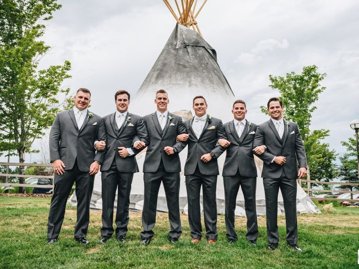 Tmx 1512677828757 Groomsmen And Teepee With Photo Credit Broomfield, CO wedding venue