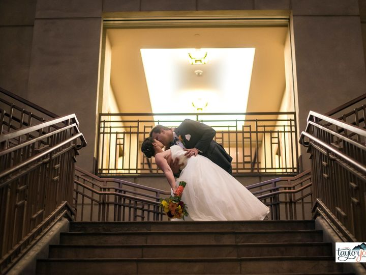 Tmx 1512678990116 Kissing Photo On Stairs With Photo Credit 2 Broomfield, CO wedding venue