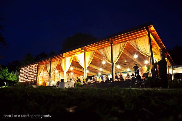 Reception at the pavilion