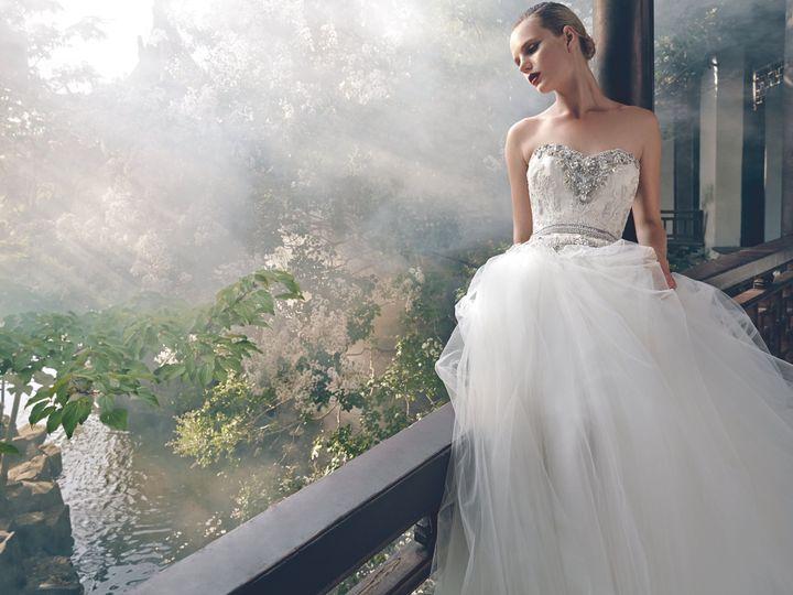 Tmx 1481737590100 Bmbride2016adconstancefropri Burnsville, MN wedding dress