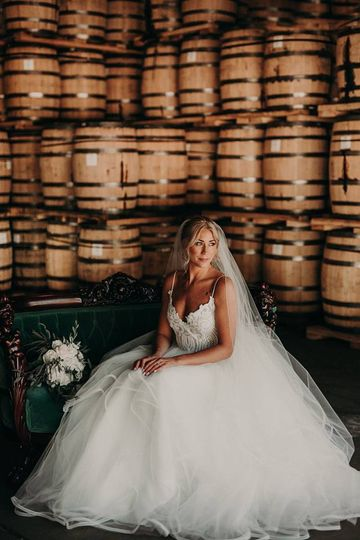 Bride at Chattanooga Whiskey