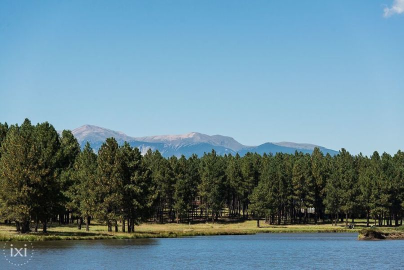 Monte Verde Lake  with view of Sangre de Christo mountains