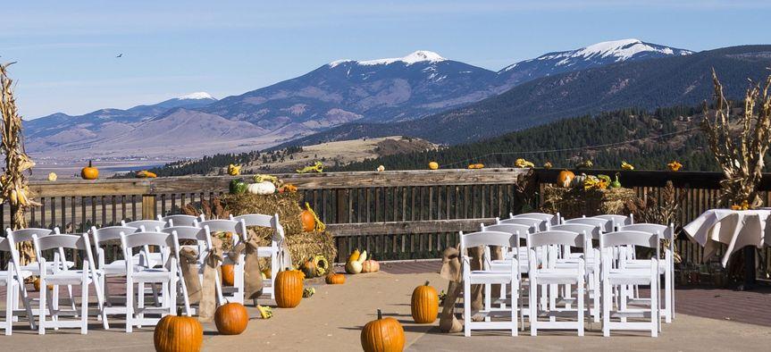 Wedding on the deck