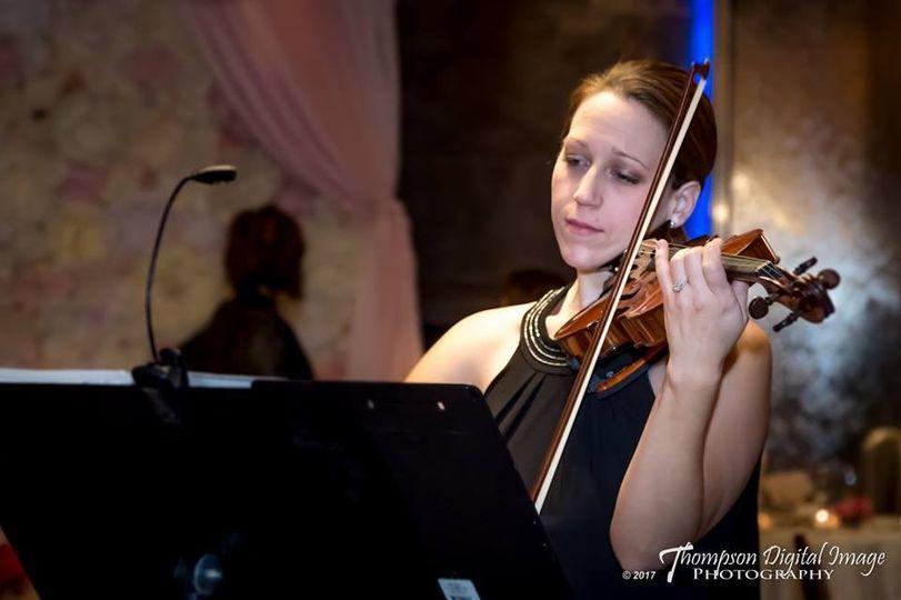 Lauren Canitia on violin