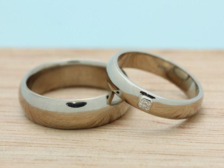 Tmx 1413589378470 Handmade Weddingbands 1 2 1 Port Townsend wedding jewelry