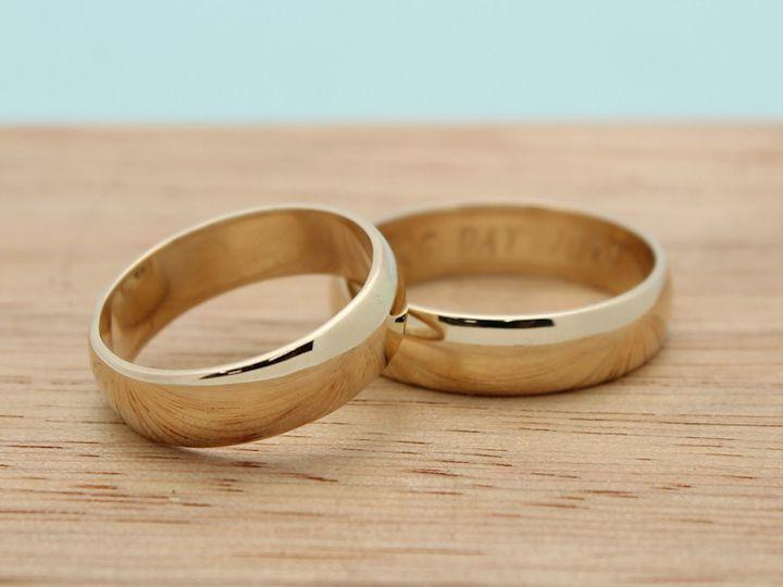 Tmx 1413589392015 Handmade Weddingbands 1 21 Port Townsend wedding jewelry