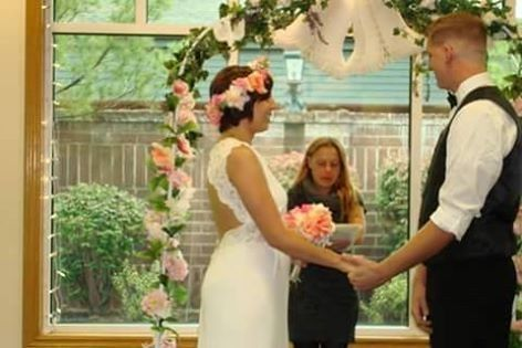 my first wedding I did. Sept, 17th 2015