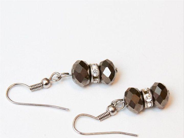 Tmx 1297299190463 BlackandcrystalsW Janesville wedding jewelry