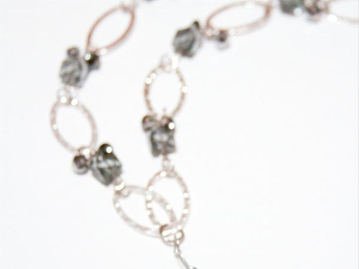 Tmx 1297299219526 BlackandsilvernecklaceW Janesville wedding jewelry