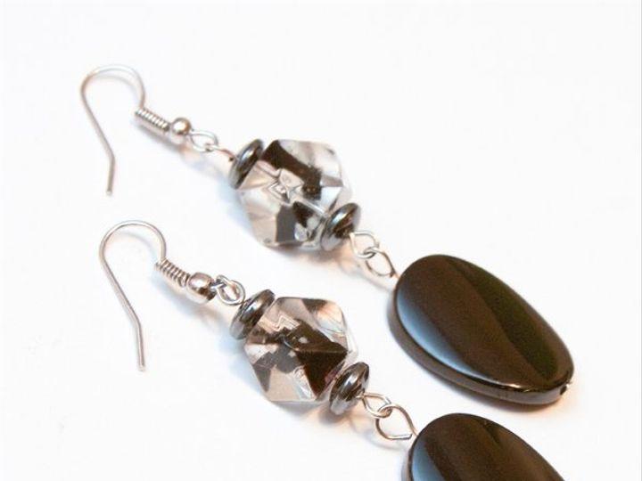 Tmx 1297299241526 BlackandwhiteearringsW Janesville wedding jewelry